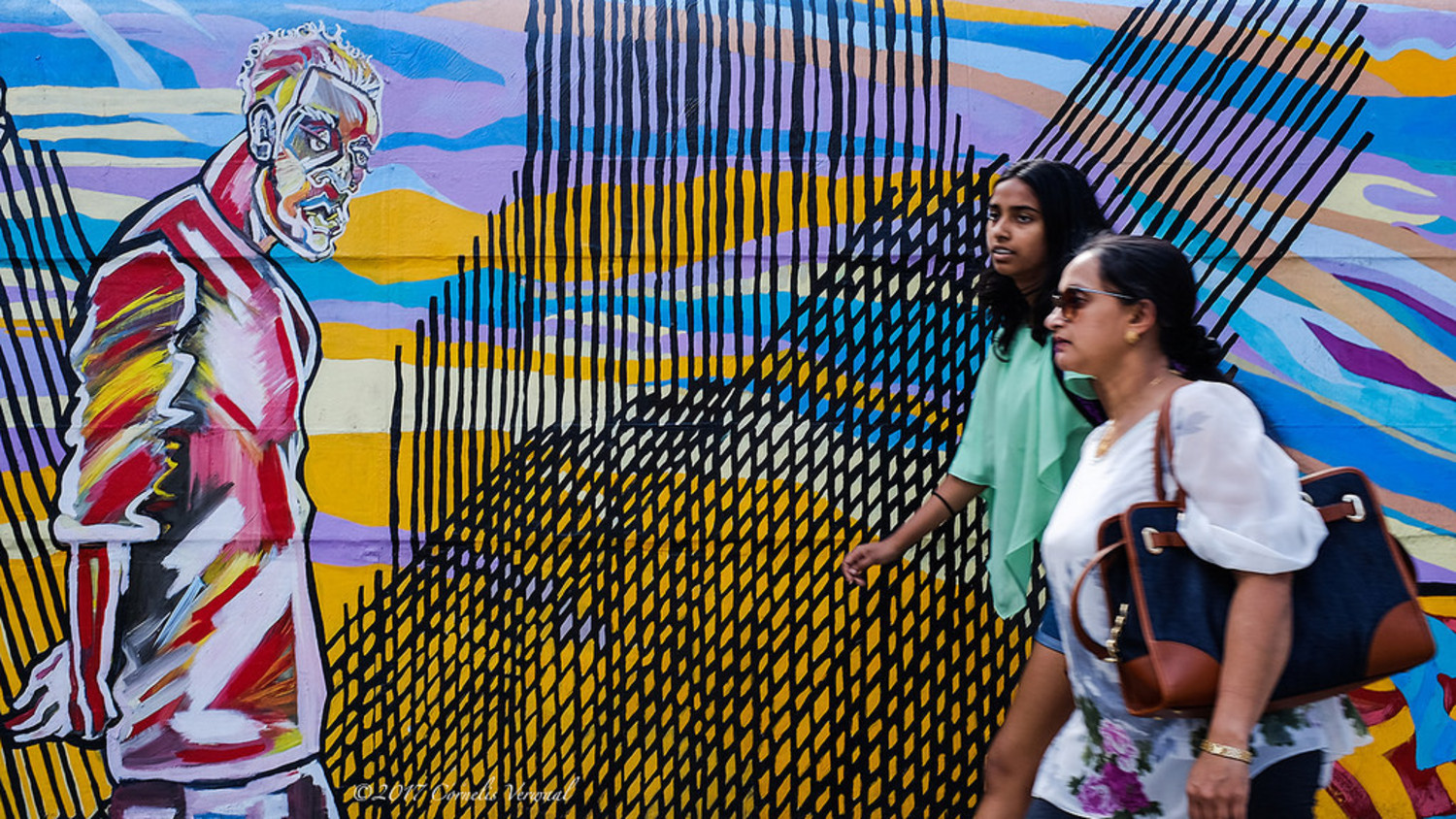 NYC Mural Arts Project, 34th Street