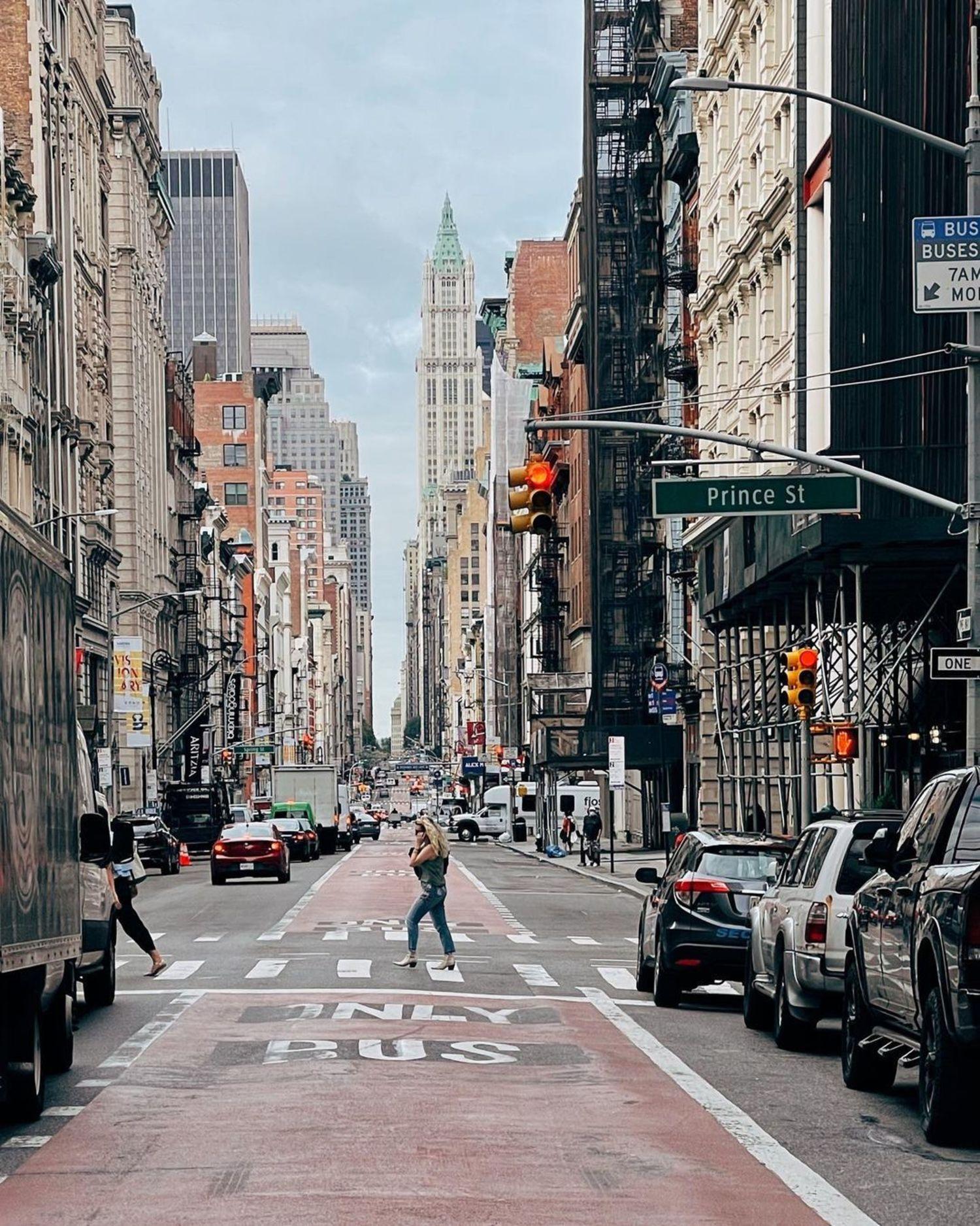Broadway and Price Street, SoHo, Manhattan