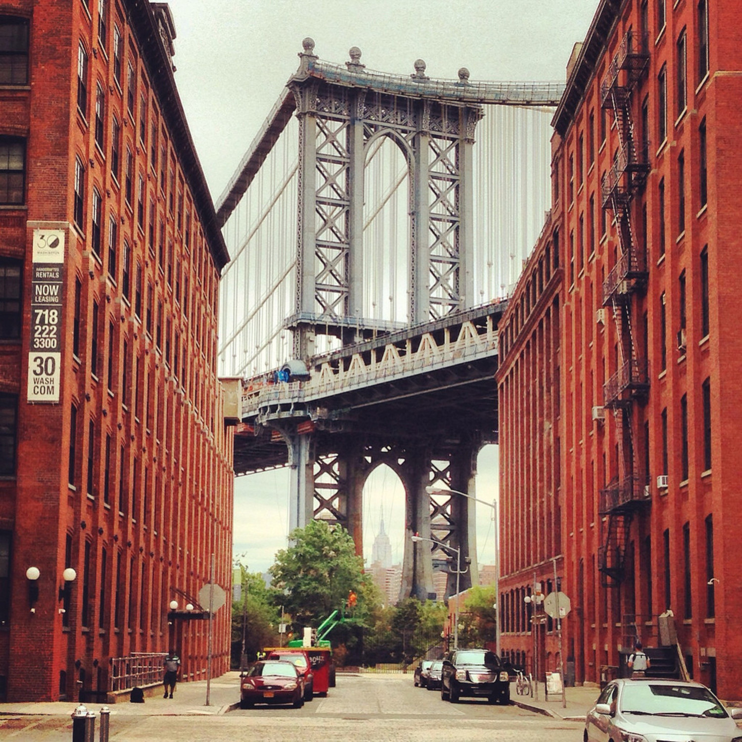 Manhattan Bridge From Brooklyn - 2014