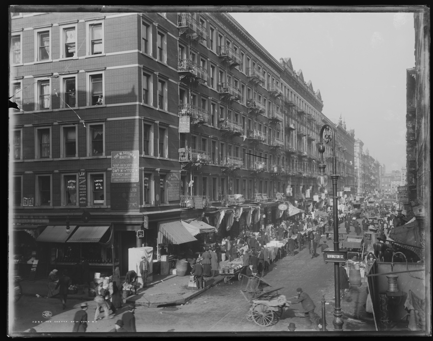 The Ghetto, New York, N.Y., 1909