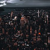 Storm Over New York, New York