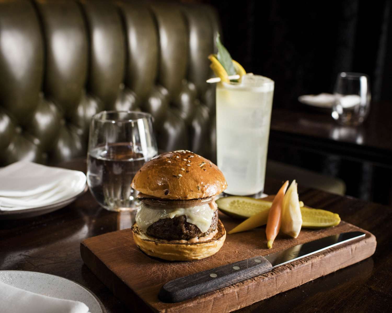 The Burger at the NoMad Bar