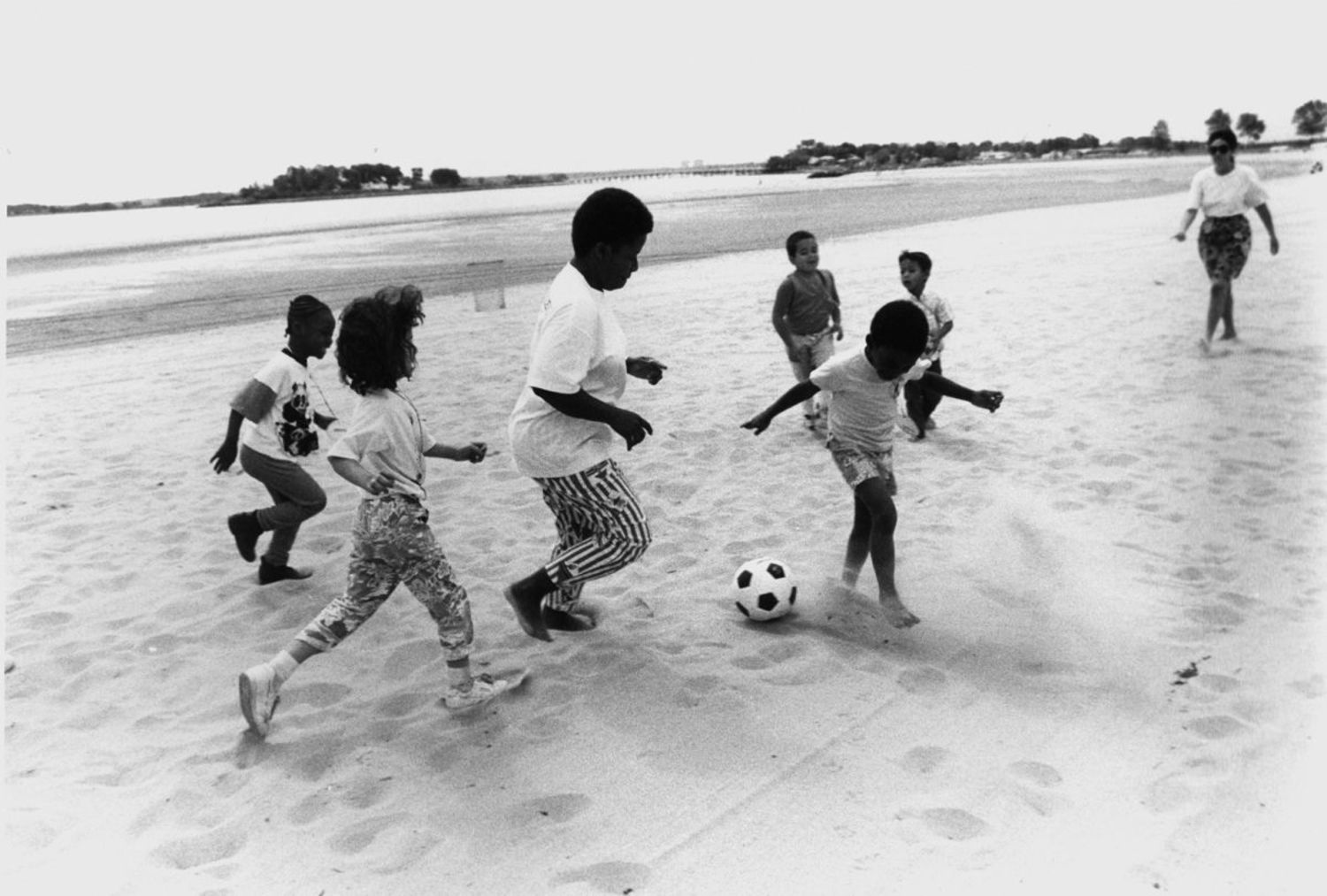 Orchard Beach Re-Opening Day, Bronx, 1989.
