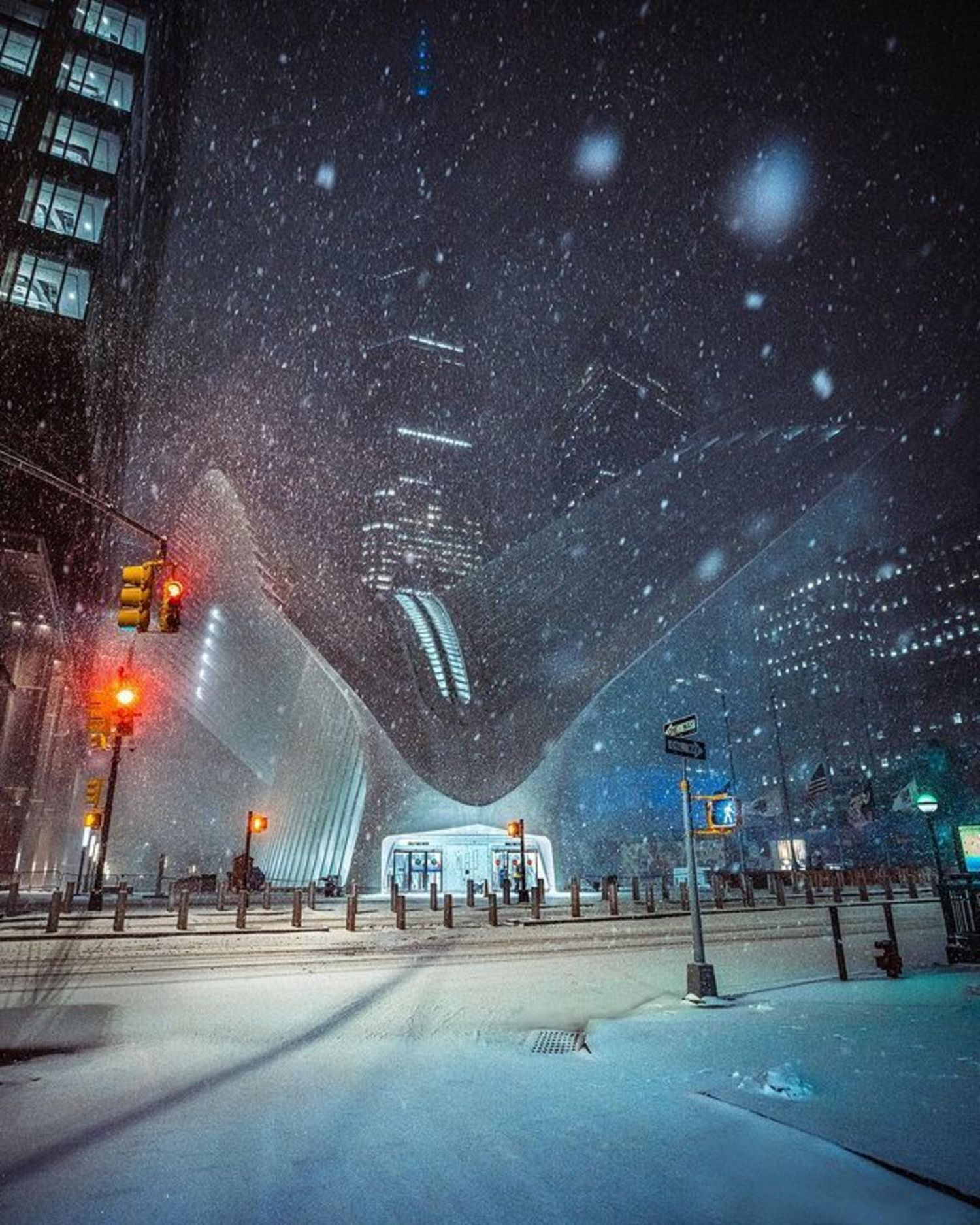 World Trade Center Transportation Hub, Financial District, Manhattan