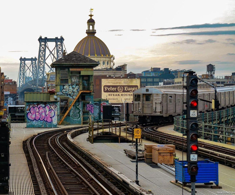 Marcy Avenue Train Station, Brooklyn