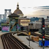 Marcy Avenue Train Station, Brooklyn