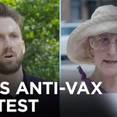 Jordan Klepper Debates Anti-Vax Mandate Protesters in NYC | The Daily Show