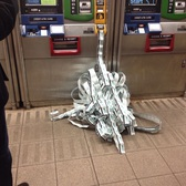 So the MTA ticket machine thought it was at Chuck E Cheese's the other day.