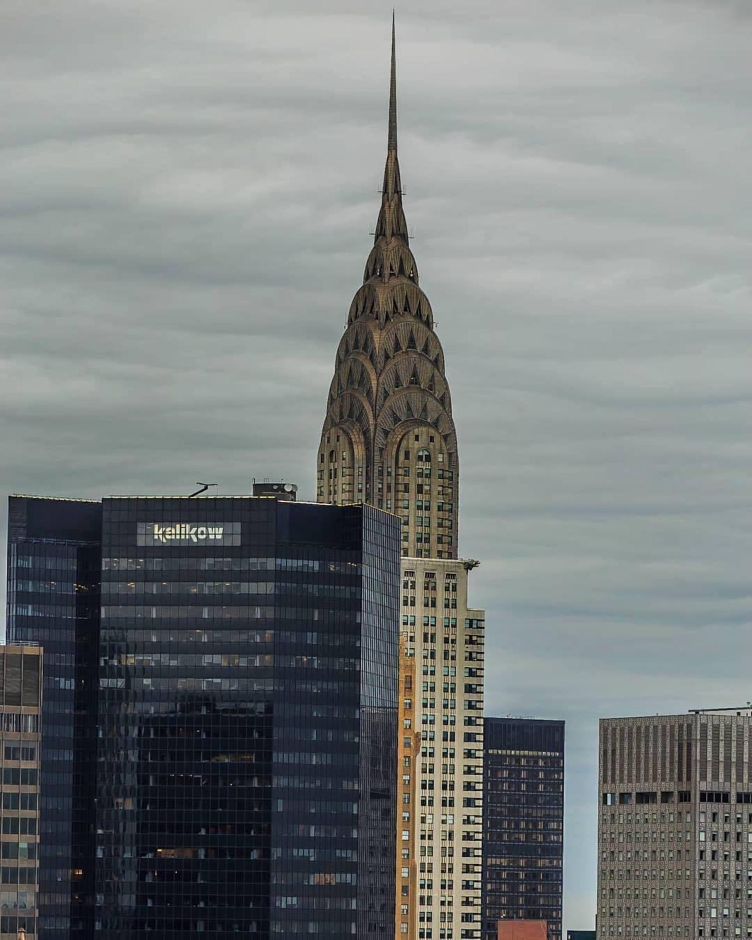Chrysler Building, New York, New York. Photo via @killahwave #viewingnyc #newyork #newyorkcity #nyc #chryslerbuilding