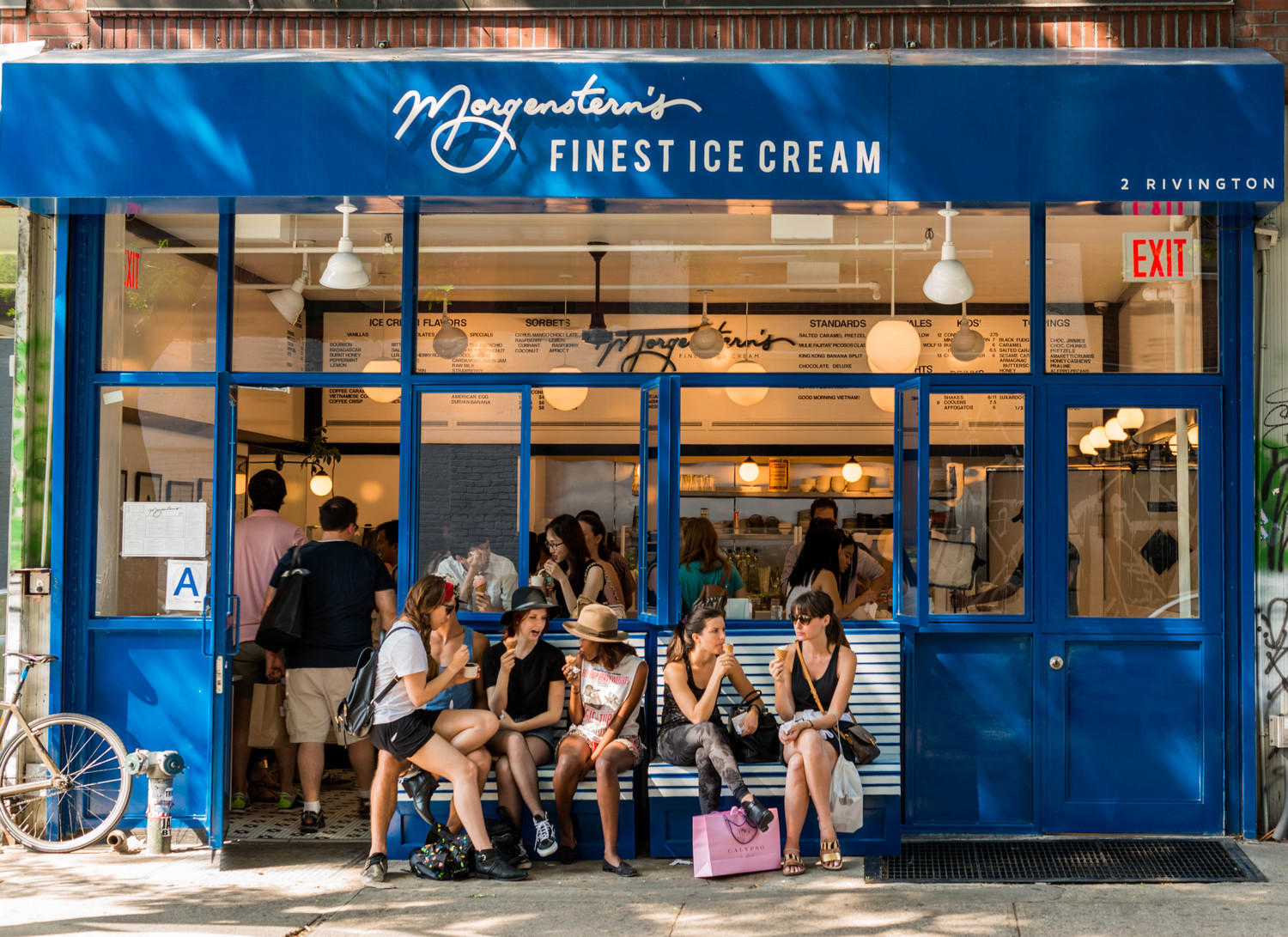 Meet me at Morgenstern's   Morgenstern's Ice Cream in the Bowery.