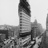 Flatiron Building Under Construction Circa 1902