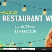 NYC Restaurant Week To Start Monday And Last 5 Weeks