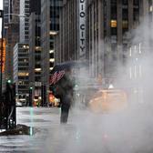 Midtown, Manhattan. Photo via @juliansilvermanphotos #viewingnyc #newyork #newyorkcity #radiocitymusichall #nyc #rain