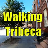 ⁴ᴷ Walking Tour of Tribeca, Manhattan, NYC (Triangle Below Canal Street)