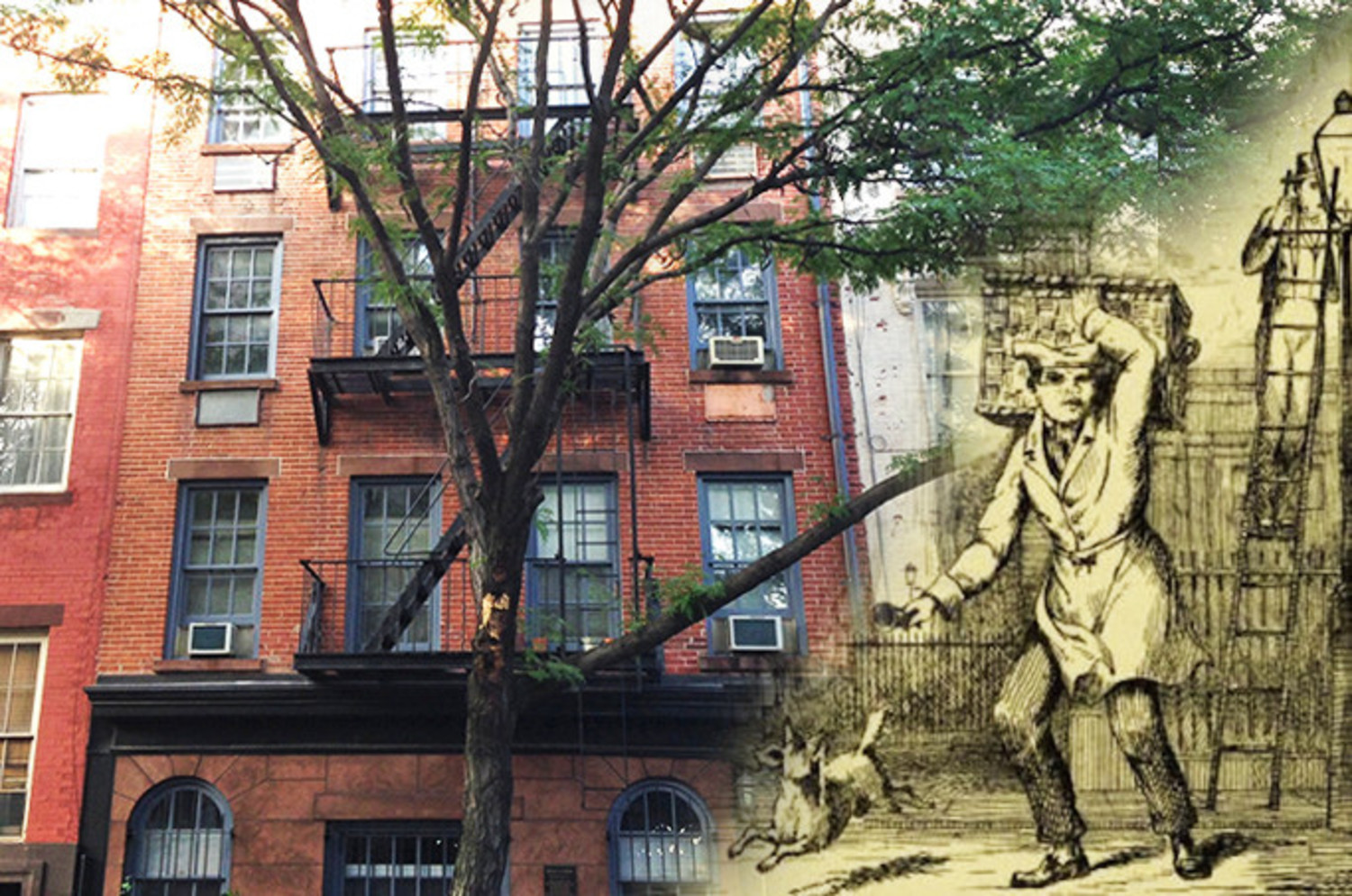 There's an Historic English Muffin Oven Hiding Underneath This West Village Co-op