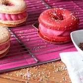 Get ready to swoon over a beautiful new dessert, the macaron donut