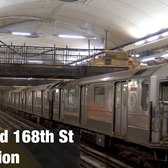 ⁴ᴷ Views of the newly-reconstructed 168th St Station