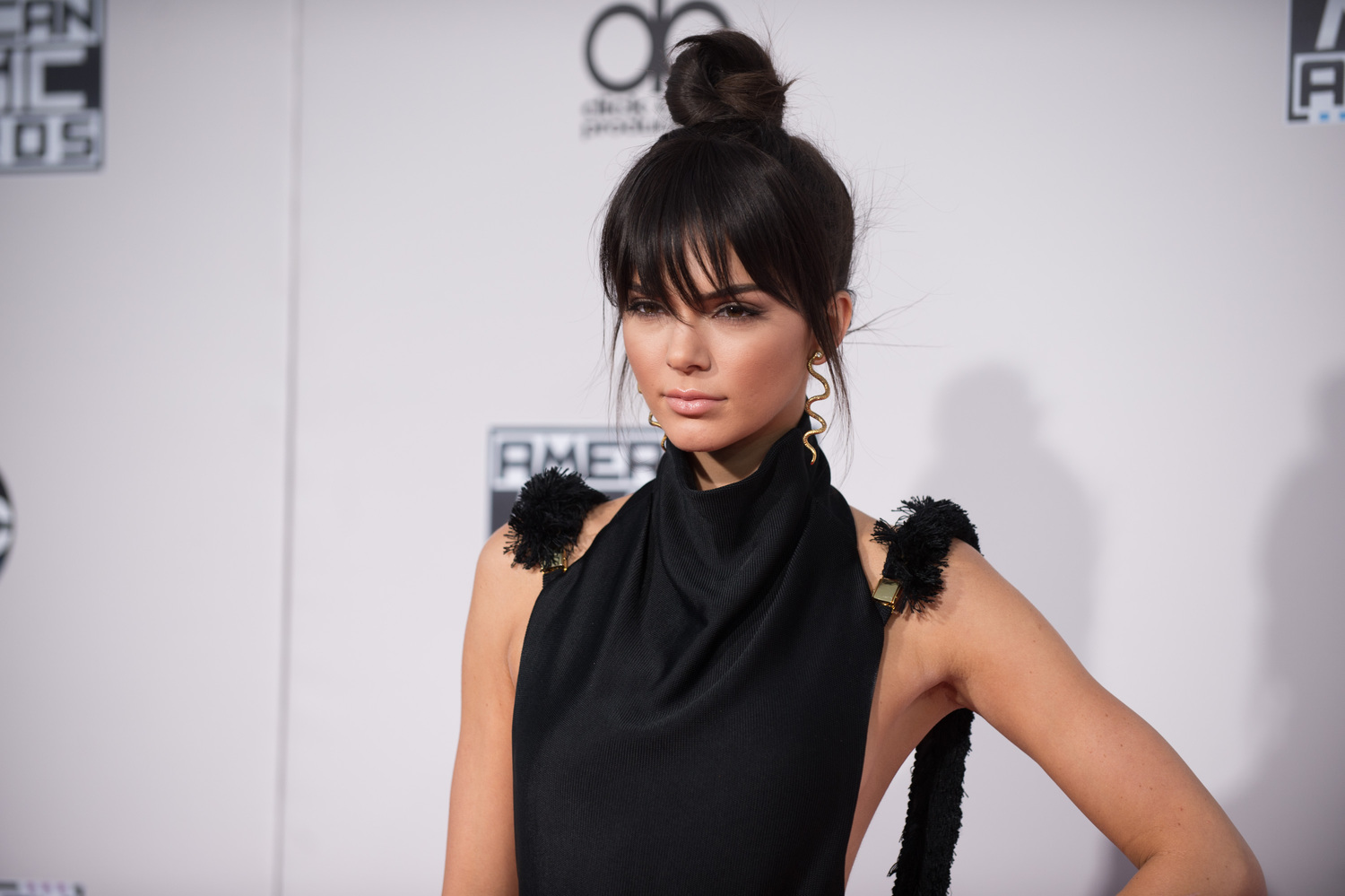 "141689_7359 | THE 2015 AMERICAN MUSIC AWARDS(r) - The ""2015 American Music Awards,"" which will broadcast live from the Microsoft Theater in Los Angeles on Sunday, November 22 at 8:00pm ET on ABC. (Image Group LA/ABC) KENDALL JENNER"