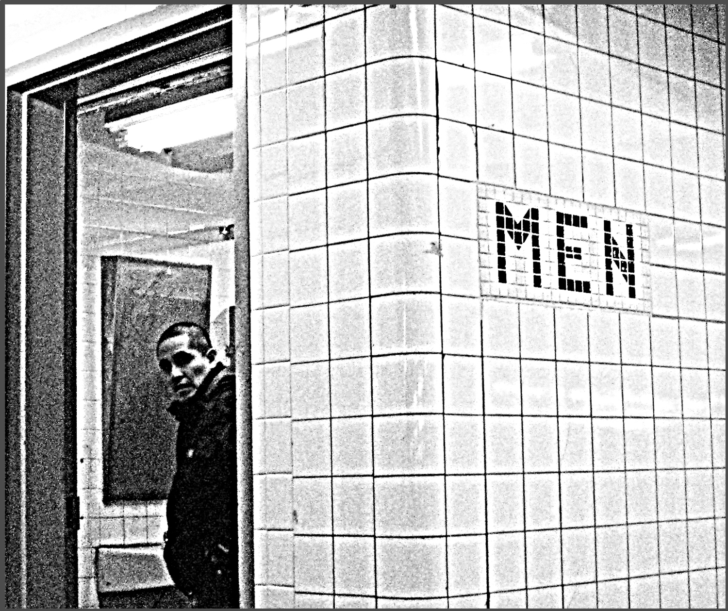NYC Subway Men's Room