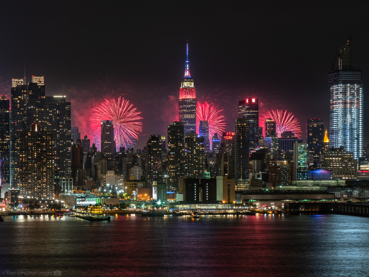 Macy's Fourth of July Fireworks over NYC, 2018