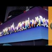 'It'sAFullCityBlock' - World's Biggest Display On Times Square (NYC)