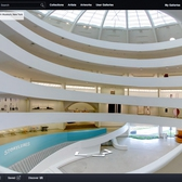 Tour the Guggenheim and Its New Exhibit Through Google Street View