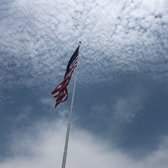 Massive American flag raised on Staten Island