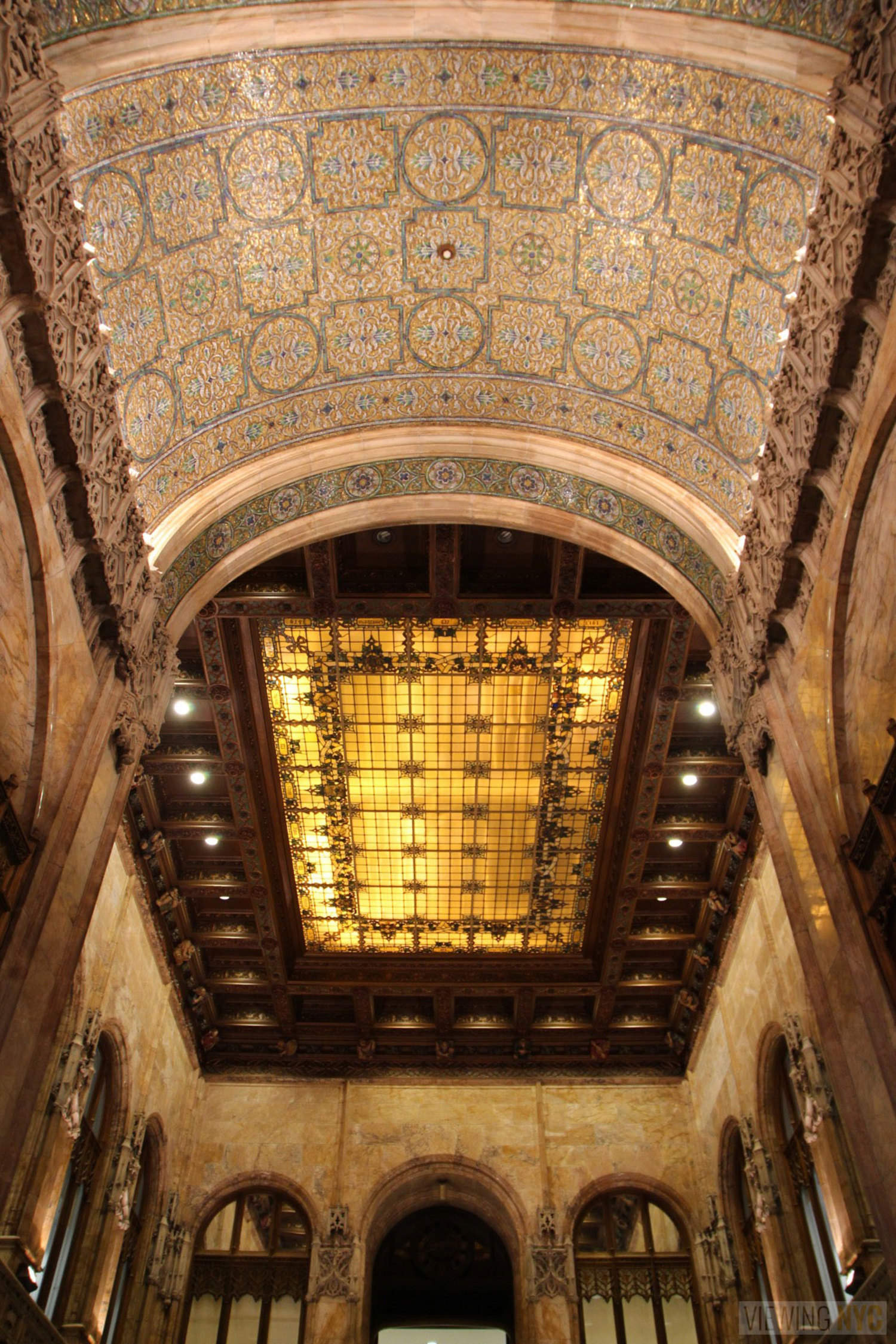Woolworth Building Lobby and Basement Tour 28