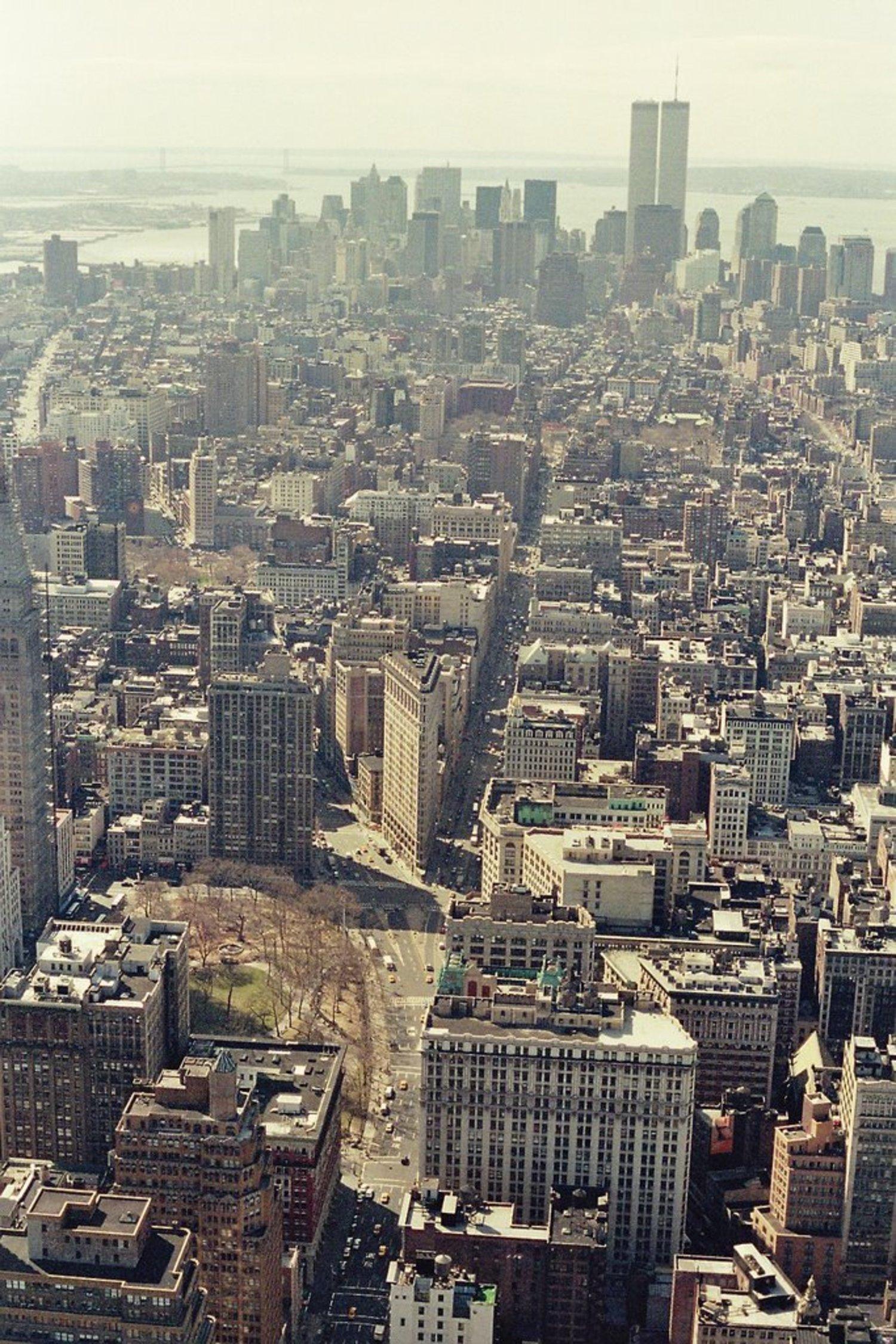 Lower Manhattan, March 2001