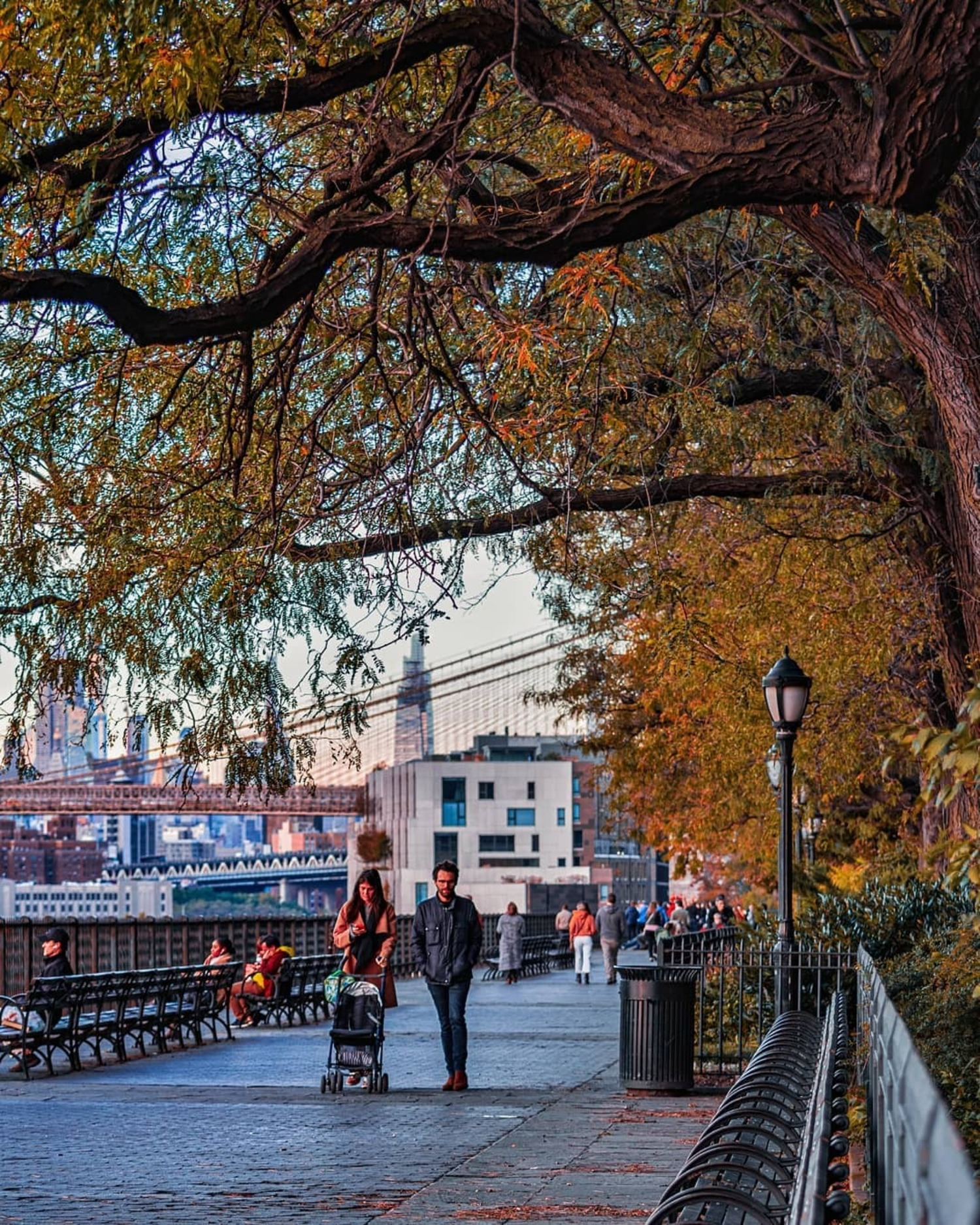 Brooklyn Heights Promenade, Brooklyn Heights, Brooklyn