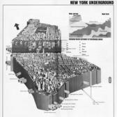 Infrastructural Cross Section of Manhattan (AIA Guide, First ed.)