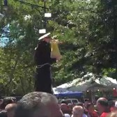 DANCE OF THE GIGLIO FESTIVAL 2015 HONORING ST. ANTHONY NEAR OUR LADY OF MOUNT CARMEL CHURCH, NYC.