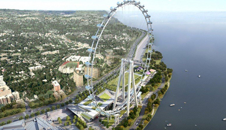 New York Wheel, rendering via New York Wheel