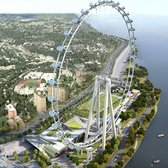 New York Wheel, rendering via New York Wheel