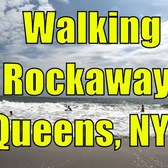 ⁴ᴷ Walking Tour of Rockaway Beach, Rockaway Park, and Boardwalk, Queens, NYC