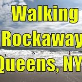 ⁴ᴷ Walking Tour of Rockaway Beach, Rockaway Park, and Boardwalk, Queens, NYC