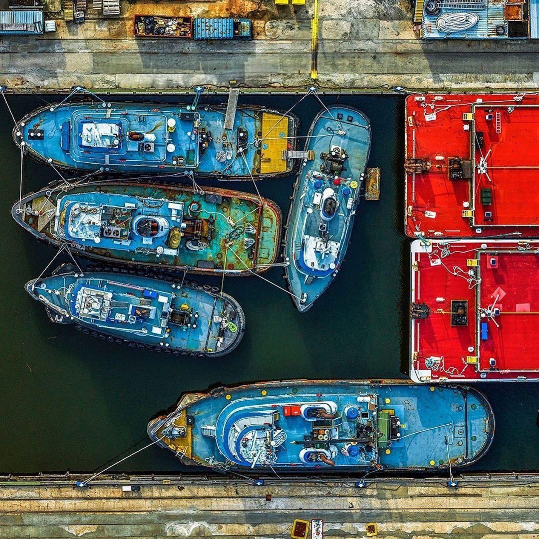 Tugboats, Staten Island, New York.