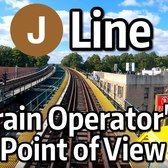 ⁴ᴷ⁶⁰ NYC Subway Train Operator's Point of View - The J Line to Broad Street