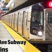 ⁴ᴷ Second Avenue Subway Non-Revenue Test Trains