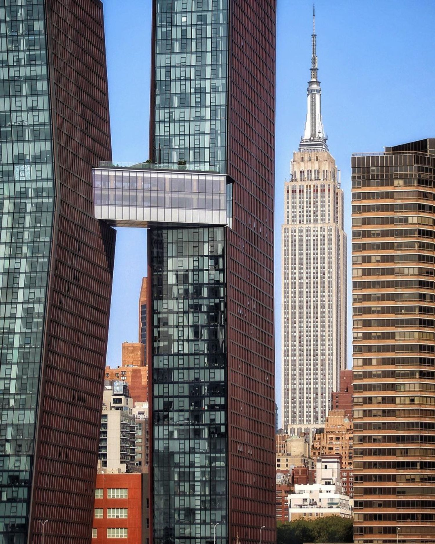 American Copper Buildings and Empire State Building, Midtown, Manhattan