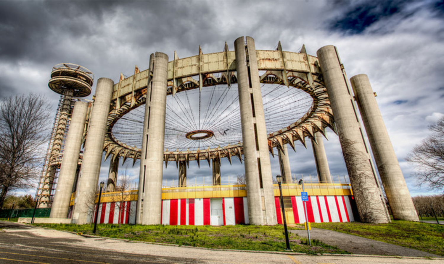 New York State Pavilion Today