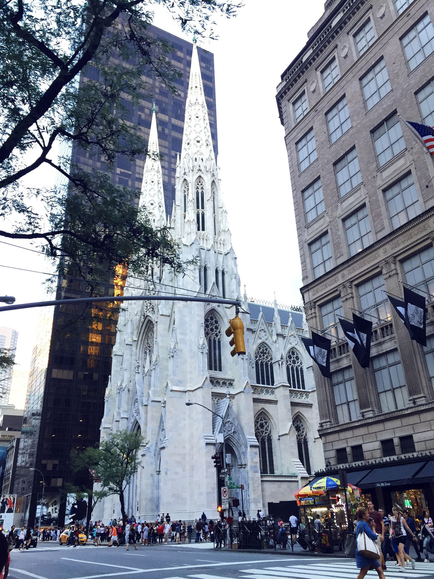 St. Patrick's Cathedral Restored Facade