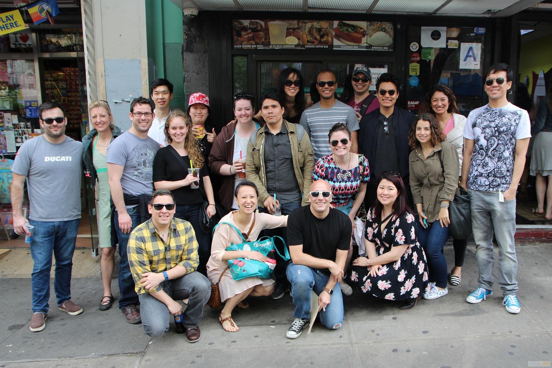 Crawlers!   2016 Viewing NYC East Village Pork Bun Crawl