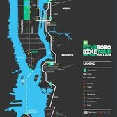 2018 Five Boro Bike Tour Route