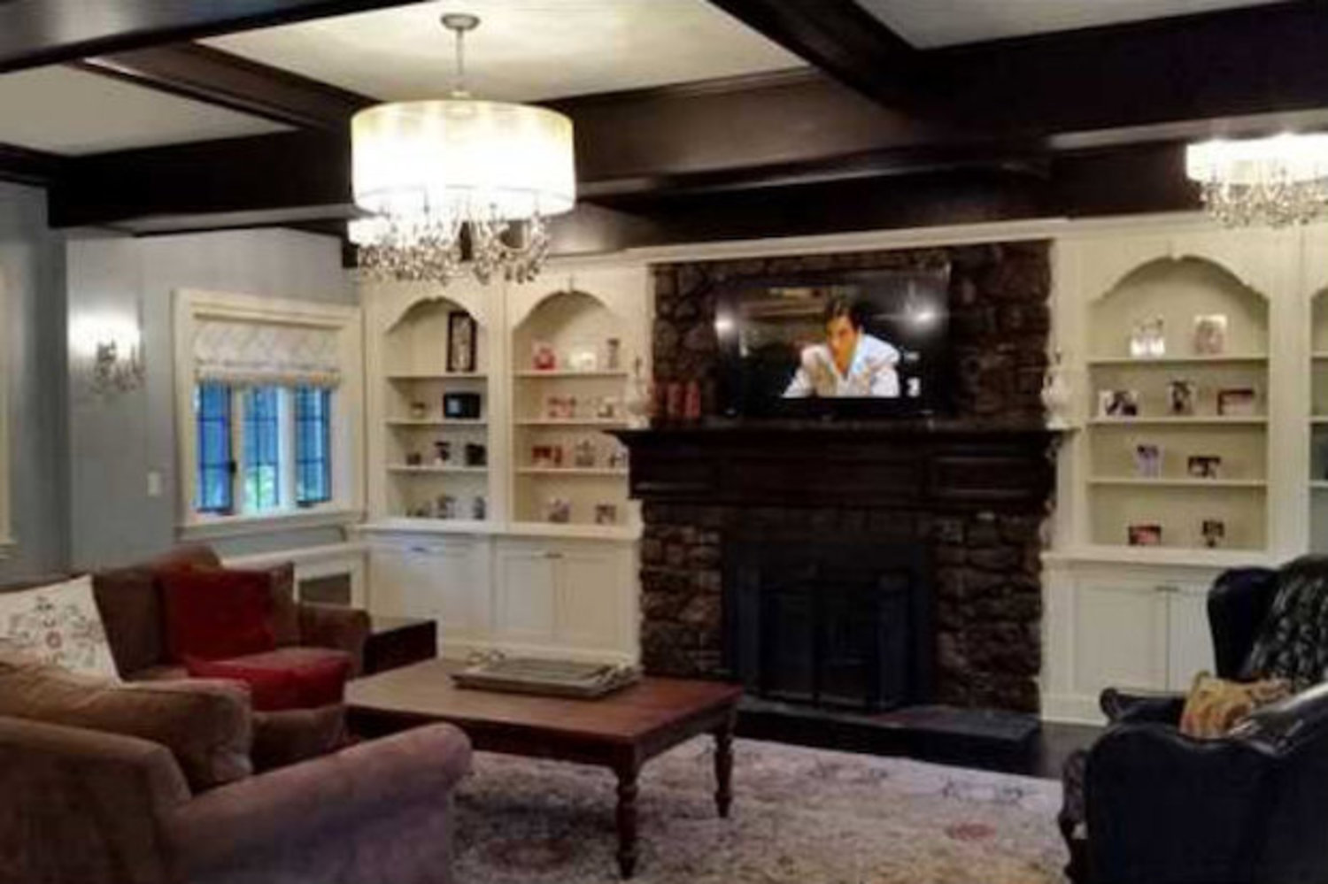 The interior of the home was gutted and remodeled by the new owners in 2012.