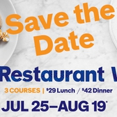 NYC Restaurant Week Summer: Jul 25th - Aug 19th