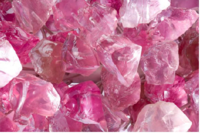 Rose Crystal Tower, closeup