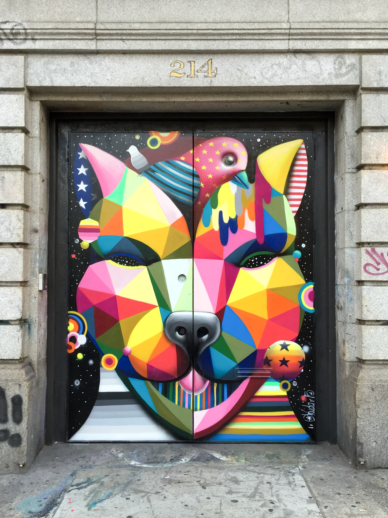"""Soho Dog"" by Okuda San Miguel 