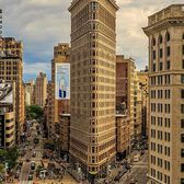 Flatiron Building, New York. Photo via @killahwave #viewingnyc
