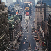 Aerial View of Times Square, New York - 1964